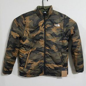 NEW North Face Mens Large Puffer Jacket Camo Coat